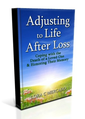 Life after a loss can be difficult, but there are ways to make it more bearable.  Written by Lora C Mercado, who endured the death of her son in 2003, this book will give you tips and strategies to help you heal from the shock and desperation from losing someone you love. Also included are true stories from others who have walked the journey of grief, and how they have overcome the raw emotions that accompany the death of a loved one. You will also find a selection of poems, and a list of grief support resources, that will help you on your road to healing.