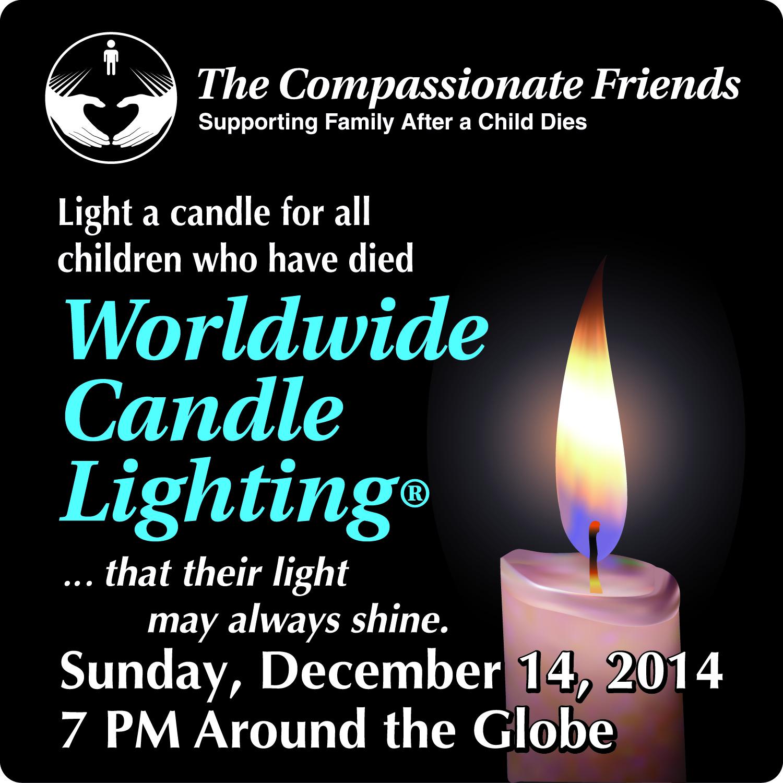 TCF 2014 Candle